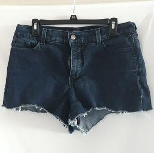 NYDJ cut off denim shorts